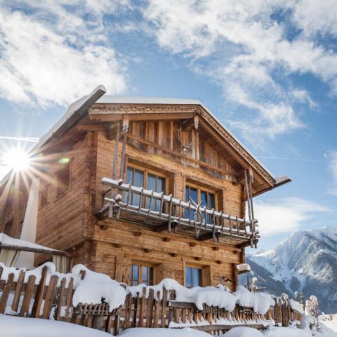 BERGHERZ Hütte für 2 - 4 Personen