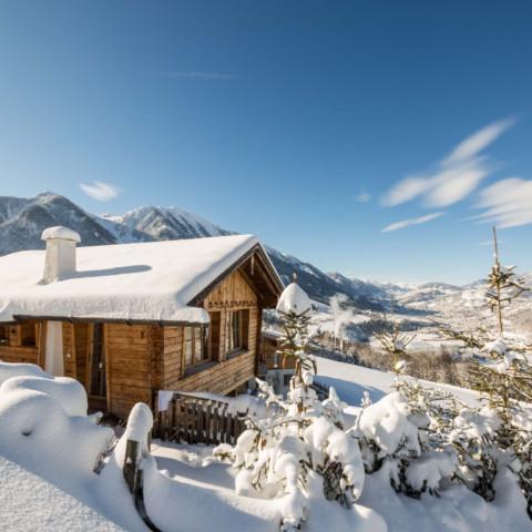 BERGHERZ Hütte für 4 - 6 Personen