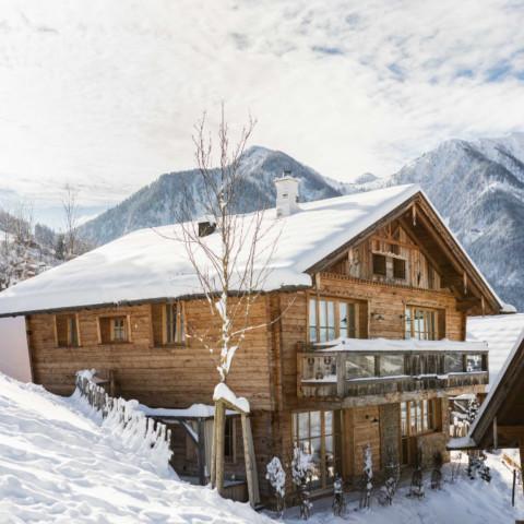 BERGHERZ Berghütte für 4 - 8 Personen